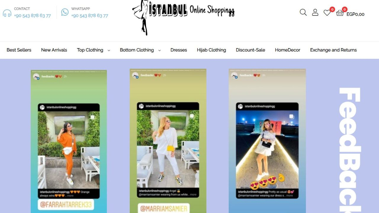 İstanbul Online Shoppingg – Amazon AWS Desteği