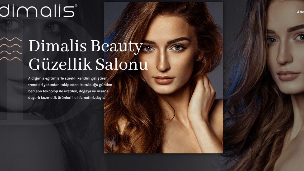 Dimalis Beauty | Özel Arayüzü Tasarımı